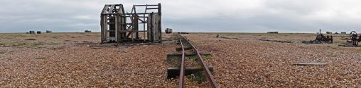 Derelict fishing hut at Dungeness, Kent