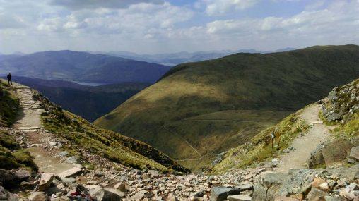 Halfway up Ben Nevis