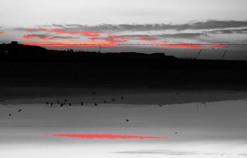 Salthouse sunsetrise