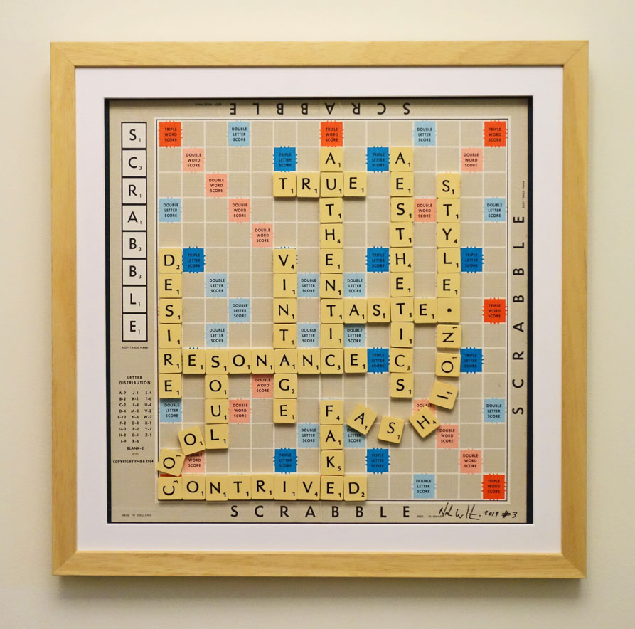 Scrabble search for authenticity